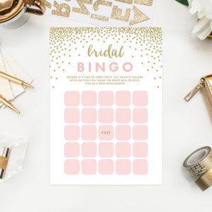 Bingo da noiva é uma brincadeira para chá de lingerie