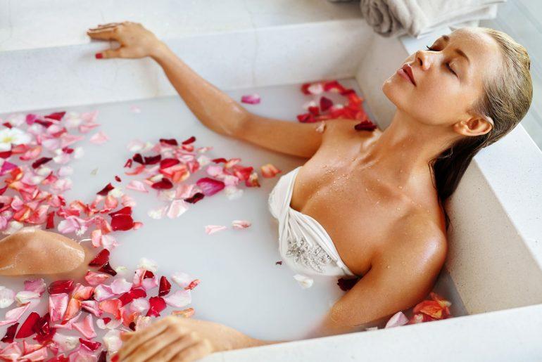 Spa em casa - Banho de banheira é uma boa opção