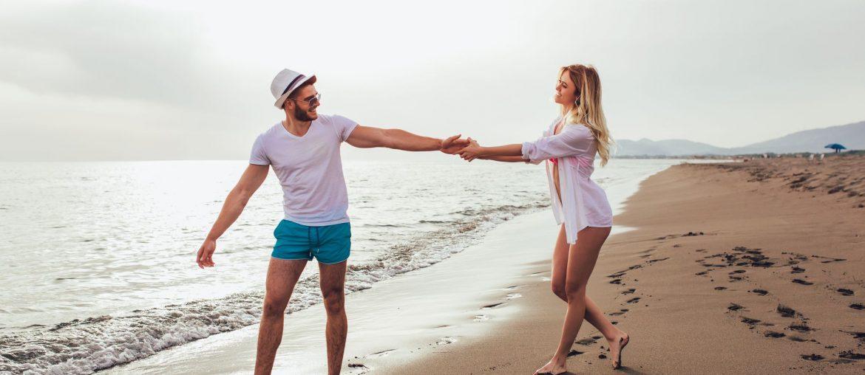 Mala para final de semana na praia com amor