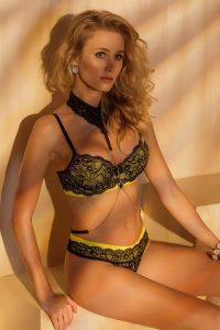 Cores de lingerie e o significado do amarelo Sexy Vinte e Oito