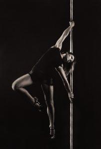 Mulher dançando Pole dance