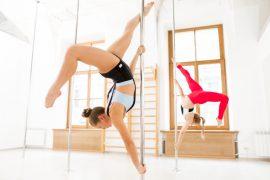 Aula de Pole Dance