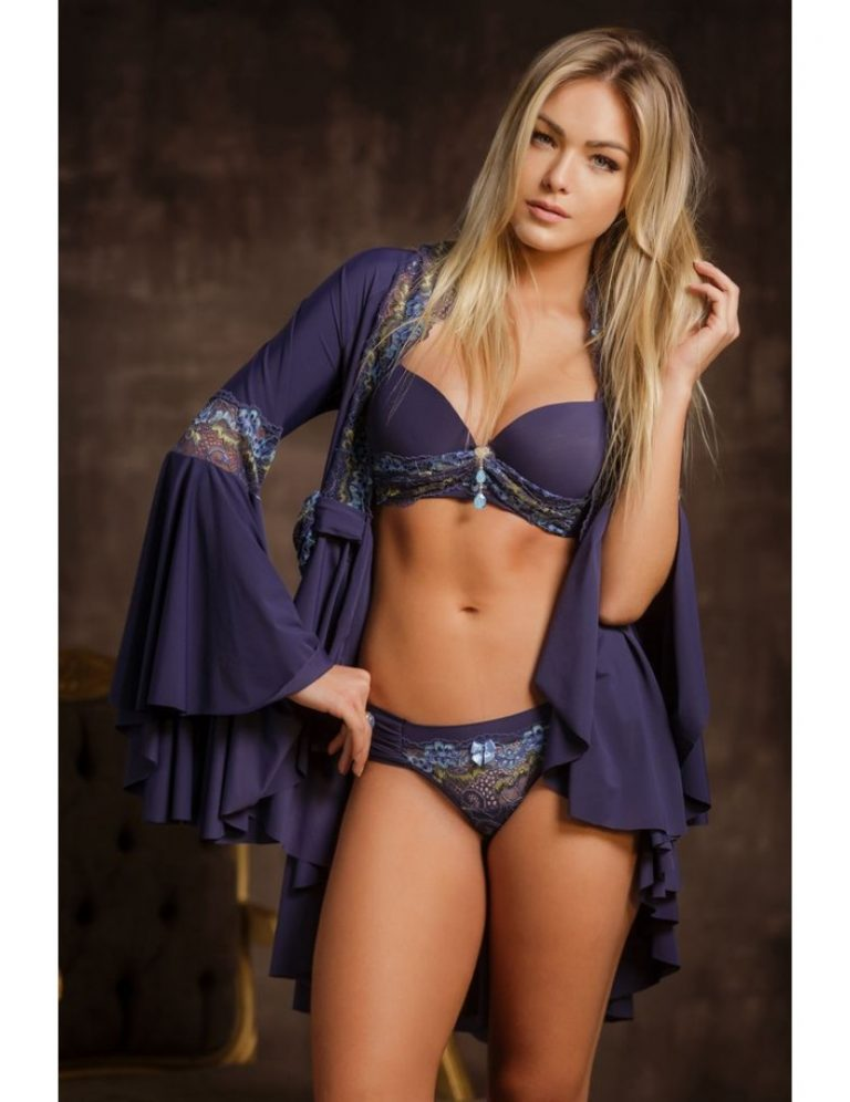 Ser sexy no inverno - robe de manga longa