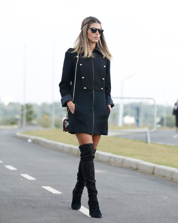 Ser sexy no inverno - Botas Over Knee