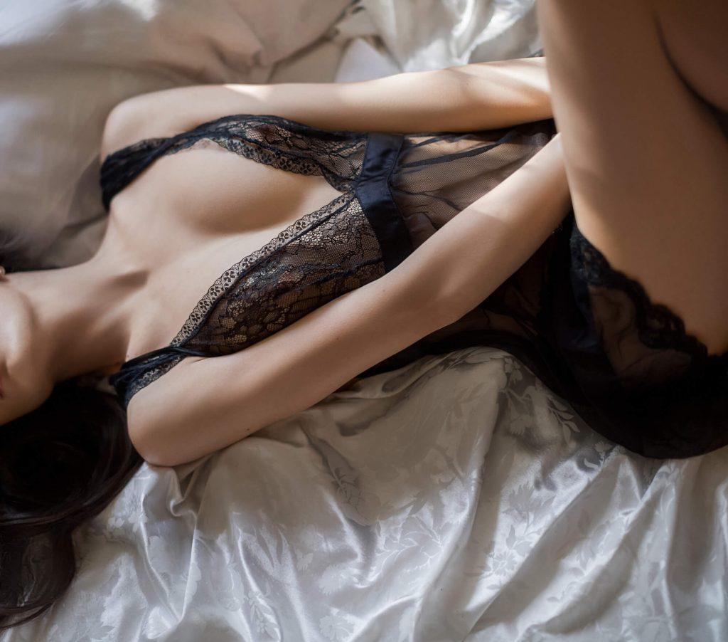 Nude perfeito: foto sensual com lingerie