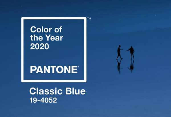 Azul Classic Blue Pantone 2020