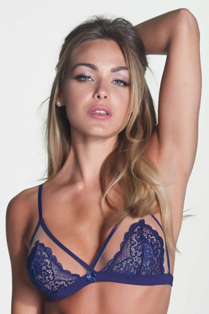 Tipos de lingerie - sutiã de tule