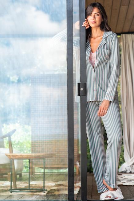pijama com lingerie sexy